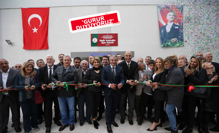 Nadir Vekiloğlu Spor Salonu açıldı