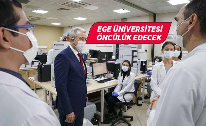 """Rektör Budak, """"EÜ yerli ve milli aşılar geliştirilmesine öncülük edecek"""""""