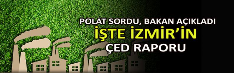 Polat sordu,Bakan açıkladı: İşte İzmir'in ÇED bilançosu