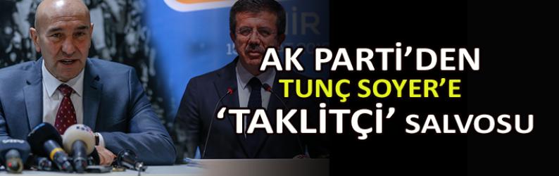 AK Parti'den Soyer'e 'Taklitçi' salvosu
