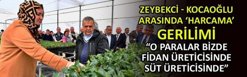 Kocaoğlu'nda Zeybekci'ye 'harcama' yanıtı