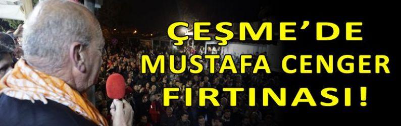 Cenger'den Ovacık'ta gövde gösterisi!