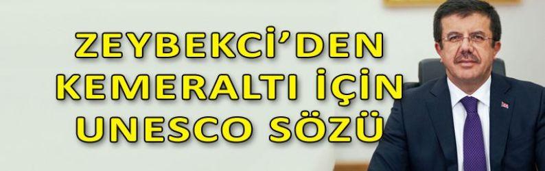 Zeybekci'den Kemeraltı için müjde!