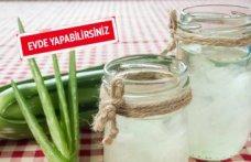 Aloe vera suyu nasıl yapılır?