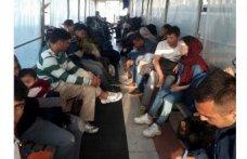 Çeşme açıklarında 170 kaçak göçmen yakalandı