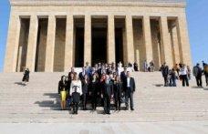 EGİAD Heyeti Anıtkabir'de