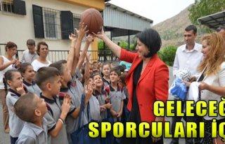 Spor Malzemeleri Büyükşehir'den