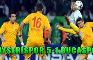Kayserispor 5-1 Bucaspor