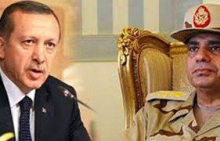 Sisi'den Erdoğan'a Kınama