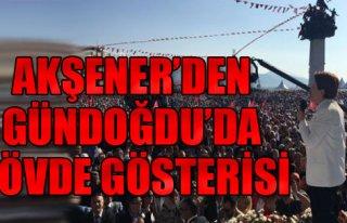 Akşener, İzmirlilere Seslendi