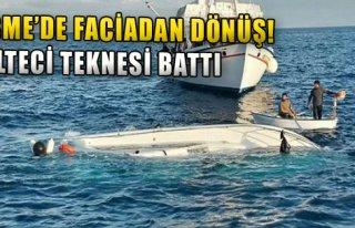 Mülteci Teknesi Battı!
