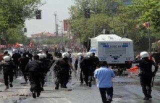 1 Mayıs İstanbul'da Olaylı Geçti