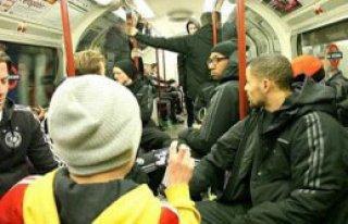 Milli Takım Maça Metroyla Gitti