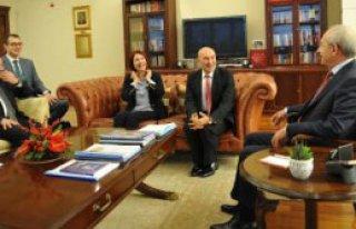 Sodem Heyeti, Kılıçdaroğlu'nu Ziyaret Etti