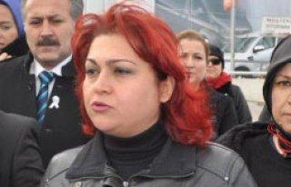 Uşak'ta Kadına Şiddet Protesto Edildi