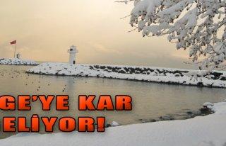 Ege'ye Kar Geliyor!
