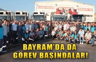 Bornova Belediyesi Görev Başında!