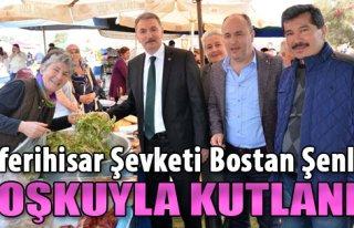 Seferihisar Şevketi Bostan Şenliği Coşkuyla Kutlandı