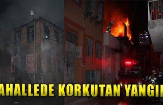 Mahallede Korkutan Yangın!