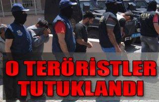 PKK'lı Teröristler Tutuklandı