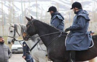 Erzurum Atlı Polislere Emanet