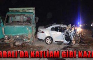 Torbalı'da Korkunç Kaza!