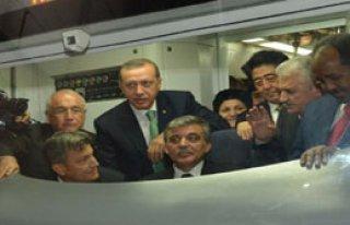 Marmaray'da İlk Gün Arızası