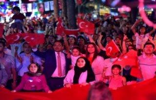 'Bornova'nın 19 Mayıs ateşi' Pınarbaşı'nda...