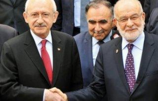 CHP'de Saadet Partisi için 5 ilde 5 kontenjan...