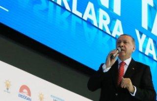 Erdoğan: Cumhurbaşkanlığı seçimini yüzde 50'nin...