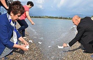 İzmir'de, marina projesinin iptalini kağıttan...