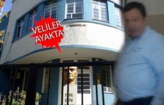 İzmir'in köklü okulunda öğretmenden toplu...