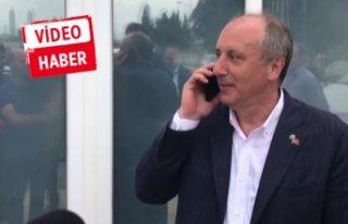 Muharrem İnce'den, İzmir'e özür telefonu