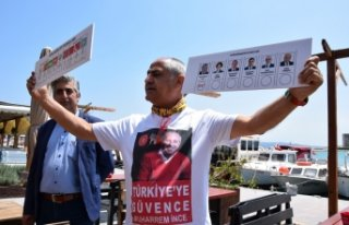 CHP'li Çam'dan köylülere 'kartonlu'...