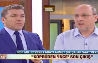 Ahmet Şık, HDP'nin 2. turda kimi destekleyeceğini...