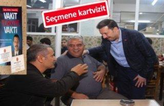 AK Partili Kaya'dan eşine rastlanmayan çalışma!