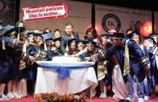 Derece'de mezuniyet coşkusu!