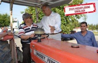 Doğan: İzmir'in tarım potansiyelini artırabiliriz