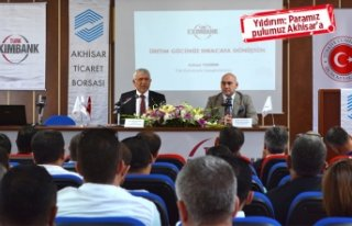 EXİM Bank'tan Akhisar'a tam destek!