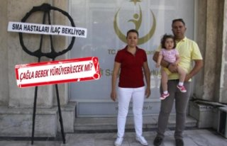 Minik Çağla'nın ailesinden İl Sağlık Müdürlüğü'ne...