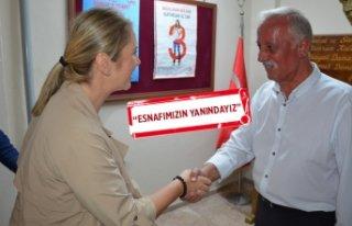 AK Partili Çankırı'dan İZMOD'a ziyaret