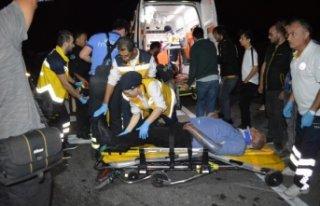 İznik'te kaza: 1 ölü, 5 yaralı