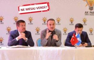 AK Parti İzmir adayı Zeybekçi, teşkilatla bir...