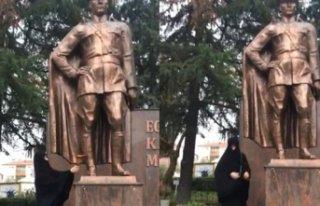 Atatürk Anıtı'na baltayla saldırıda yeni...