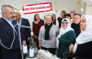 Gaziemir kadın kooperatifi kuruldu
