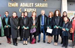 İzmir Barosu'ndan kadına yönelik şiddete...