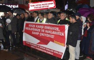 TMMOB'tan İzmir'de ekonomik kriz açıklaması
