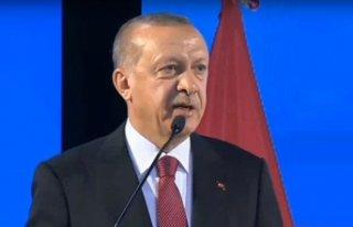 Erdoğan: Tarihi bir ziyarete şahitlik ediyoruz