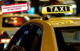 İzmir'deki taksicilerden 'kamera'...