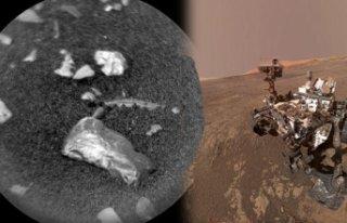 Mars'ta parlak bir cisim bulundu